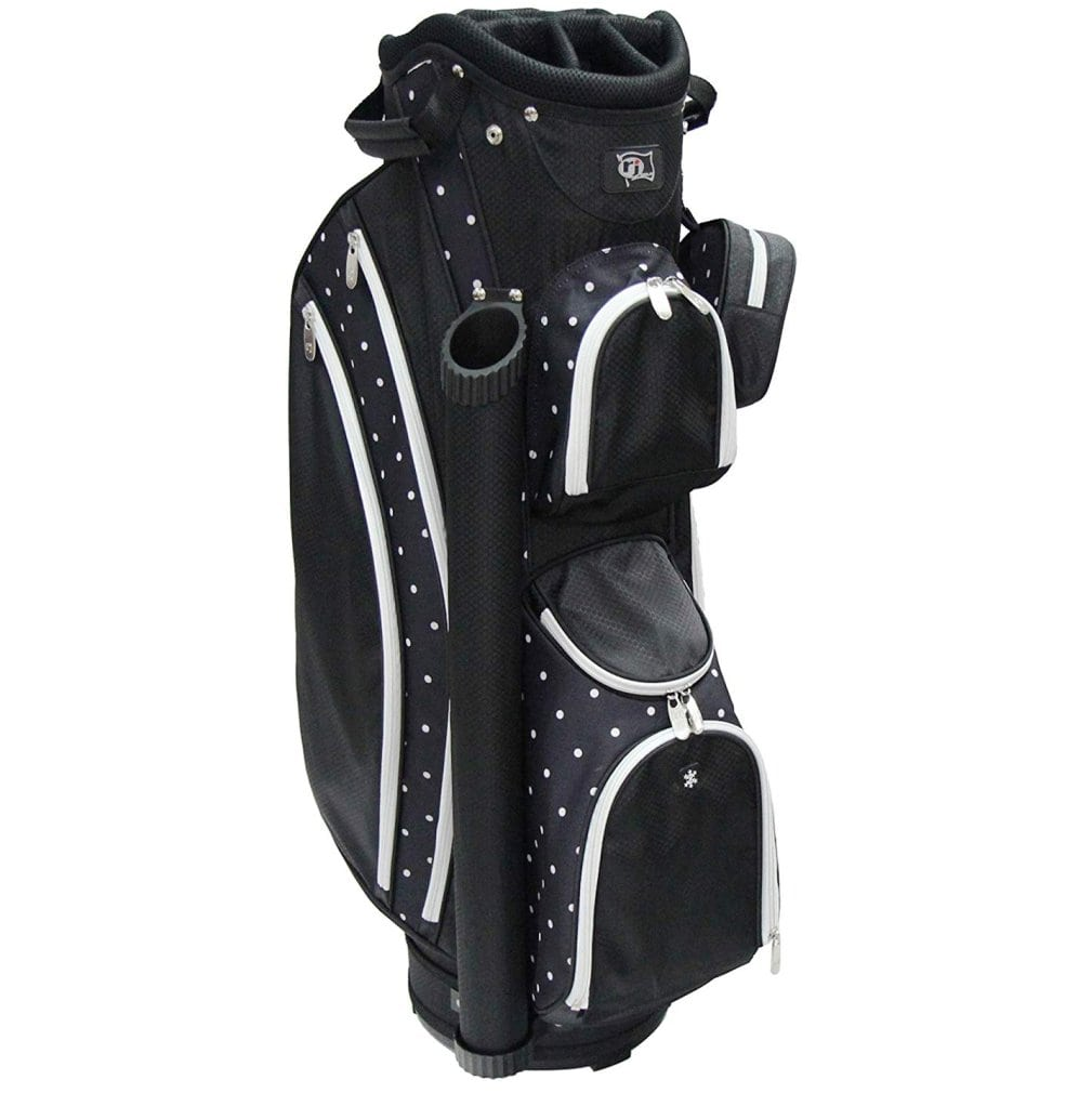 RJ Sports Paradise Deluxe Ladies Cart Bag - Polk A Dot