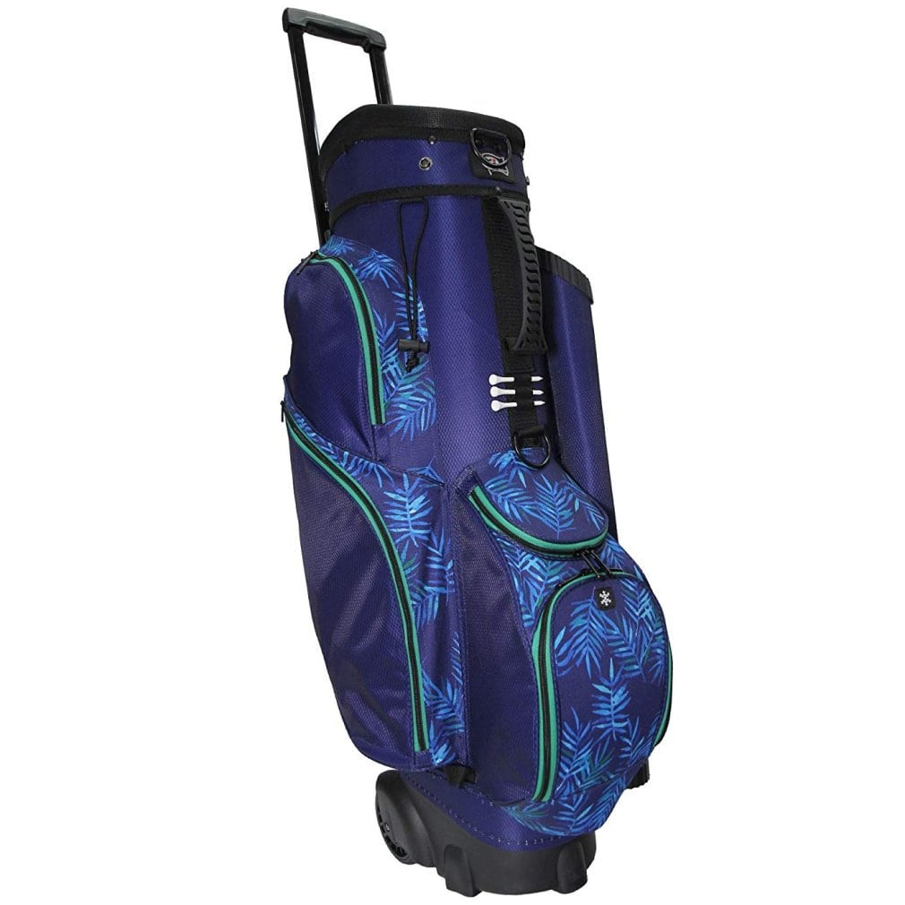 RJ Sports Spinner X 14 Way Transport Cart Bag - Palm Breeze