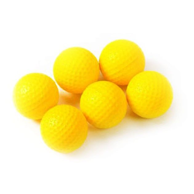 Tour Gear PU Foam Practice Balls - Pack of 6
