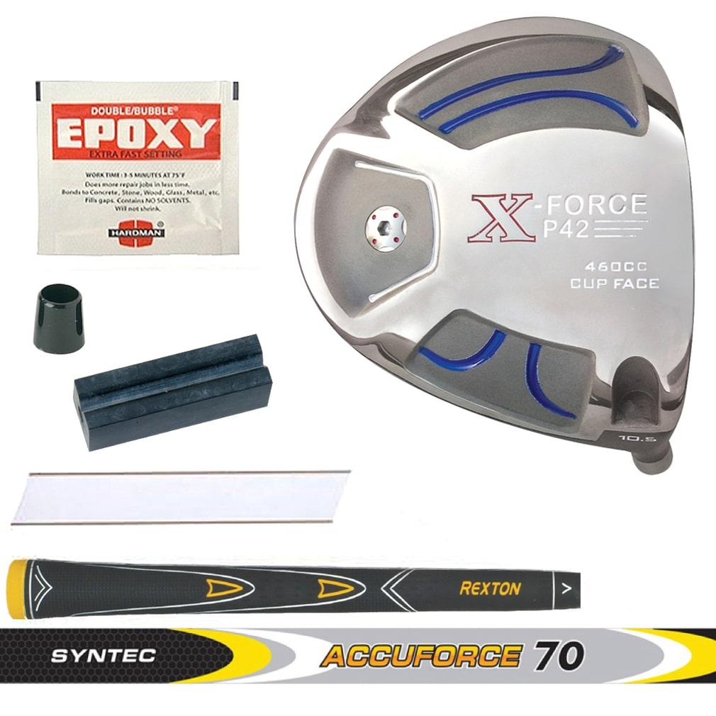 X-Force P42 Cup Face Black Titanium Driver Component Kit