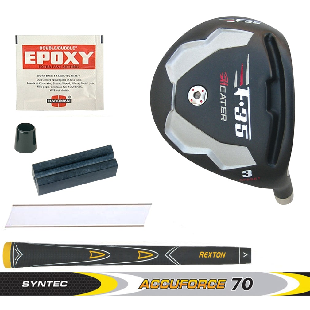 Heater F-35 Black Offset Fairway Wood Component Kit