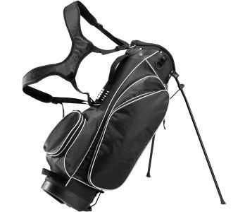 "RJ Sports DE 9"" Stand Bag - Black"