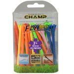 "Champ Zarma FLYTee - 3.25"" Mixed Golf Tees 25 pack"