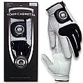 Tour Cabretta Golf Glove, LH Glove for Right Hand Player