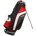 PowerBilt Santa Rosa Stand Bag, Black/Red