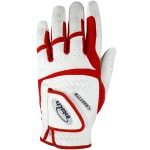 Intech Junior Golf Glove - Red/White