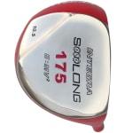 Integra Sooolong 175 Titanium Driver Head - Red