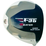 Heater F-35 Cup Face White Titanium Driver Head RH