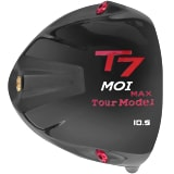T7 Max MOI Triangular Black Titanium Driver Head