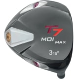 T7 Max MOI Triangular Black Fairway Wood Head