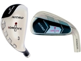 Custom-Built i-Drive Nitron Hybrid/Iron Combo Set (8 Clubs)