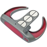 Custom-Built Armada Mallet Putter - Red/Gray