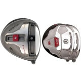 Built Heater B-1 Titanium Driver + 2 x Fairway Woods