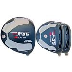 Built Heater F-35 Black Titanium Driver + 2 x Black Fairway Woods RH