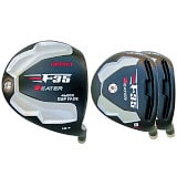 Built Heater F-35 Black Offset Titanium Driver + 2 x Fairway Woods RH