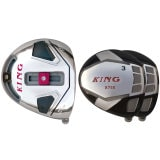 Built King x888 Titanium Driver + 2 x Fairway Woods