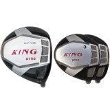 Built King X750 Titanium Driver + 2 x Fairway Woods