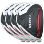 Built Heater Blue Angels Hybrid 4-Club Graphite Set