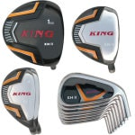 Built King XH2 Titanium Driver 9-Club Set