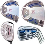 Built X-Force P42 Titanium Driver 9-Club Set RH
