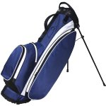 "RJ Sports Playoff 9.5"" Deluxe Stand Bag Navy/White"