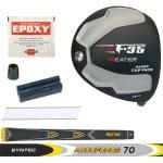 Heater F-35 Cup Face Black Titanium Driver Component Kit