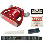 T-7 Twin Engine Red Mallet Putter Component Kit