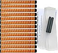"Winn Excel Oversize (+1/8"") Copper 13 pc Grip Kit"